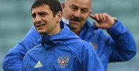 Игрок сборной России Алан Дзагоев