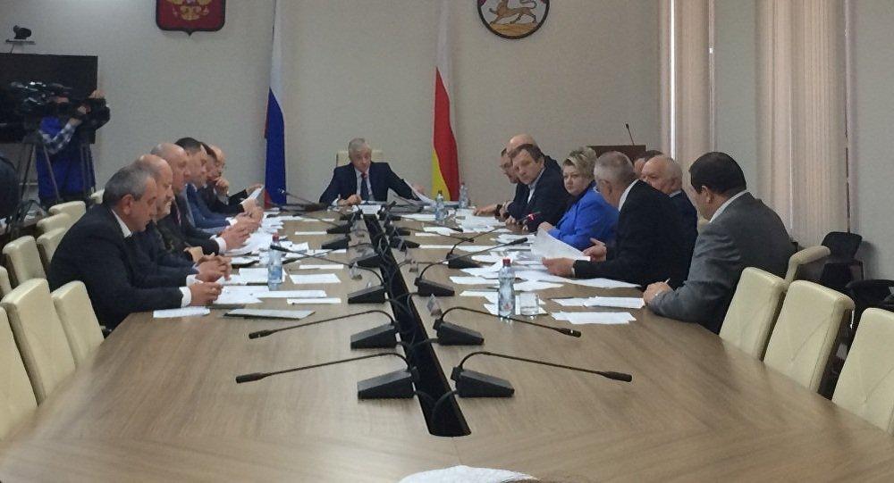 Заседание совета парламента Северной Осетии