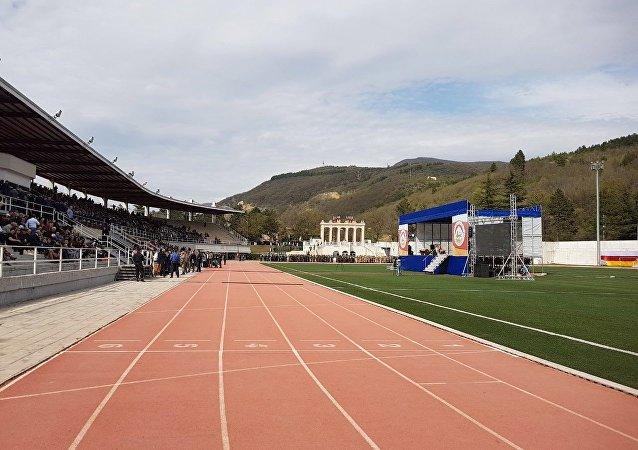 Стадион, подготовка к инаугурации