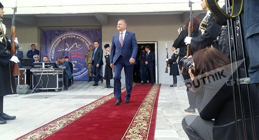 Новоизбранный президент Государства Алания