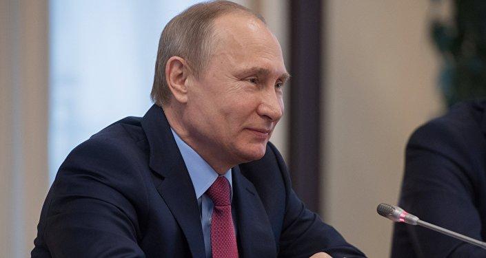 Президент РФ В. Путин, архивное фото