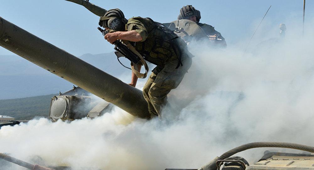 Тактические занятия мотострелковой бригады ЮВО МО РФ