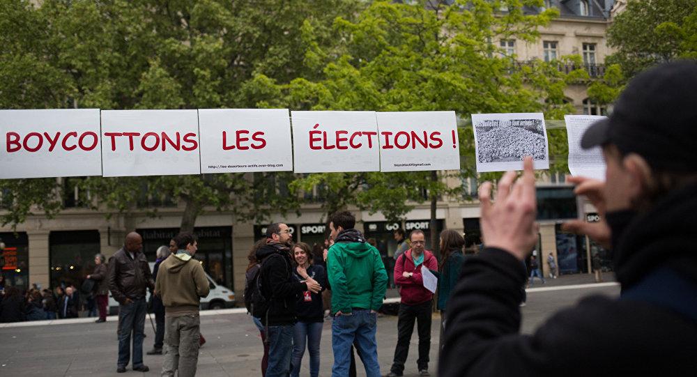 Париж перед первым туром выборов