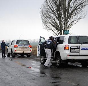 Миссия ОБСЕ не смогла обследовать место обстрела в районе Коминтерново
