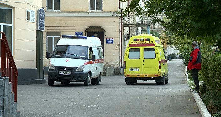 Машины Скорой помощи в Дагестане