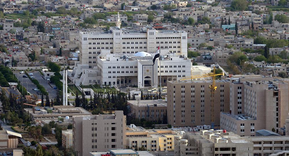 Вид на Дамаск с горы Кассион