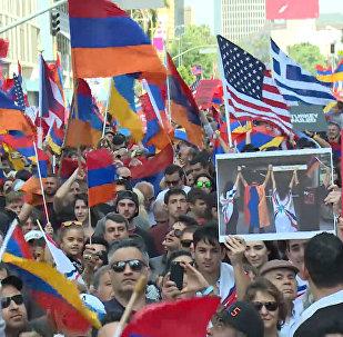 Акции памяти о Геноциде армян прошли в разных городах мира