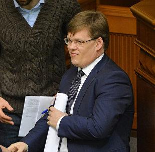 Министр социальной политики Украины Павел Розенко