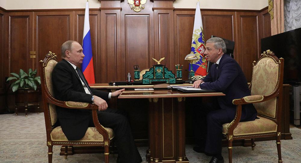 Владимир Путин провел встречу сглавой Северной Осетии