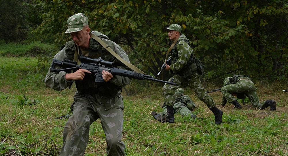 Военные учения ЮВО на Северном Кавказе