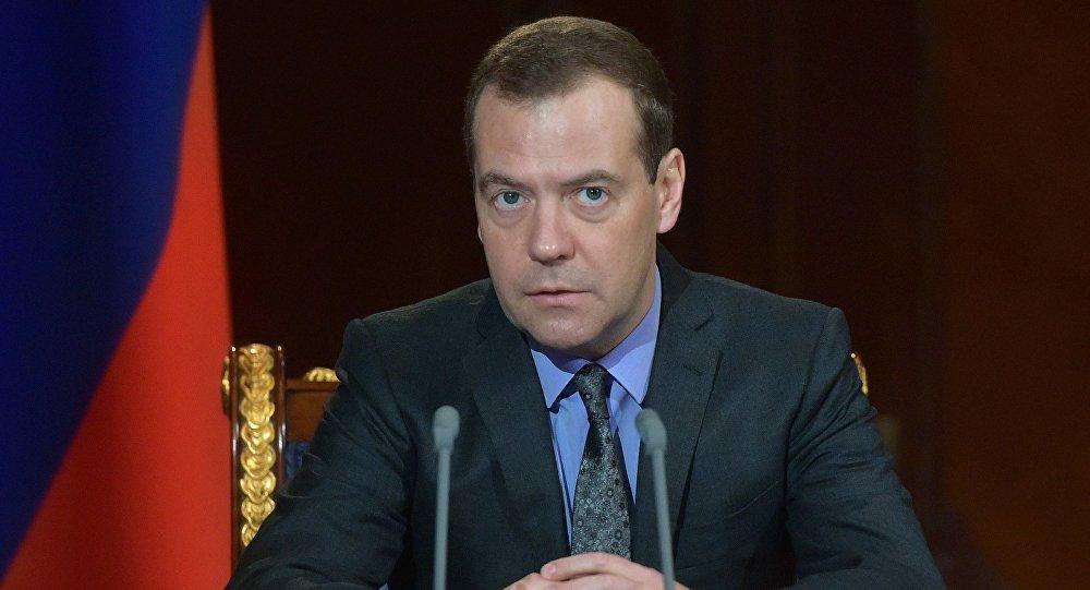 Премьер-министр РФ Д. Медведев провел совещание с вице-премьерами РФ
