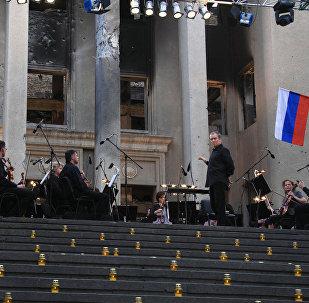 Гергиты Валерийы концерт Цхинвалы 2008 азы