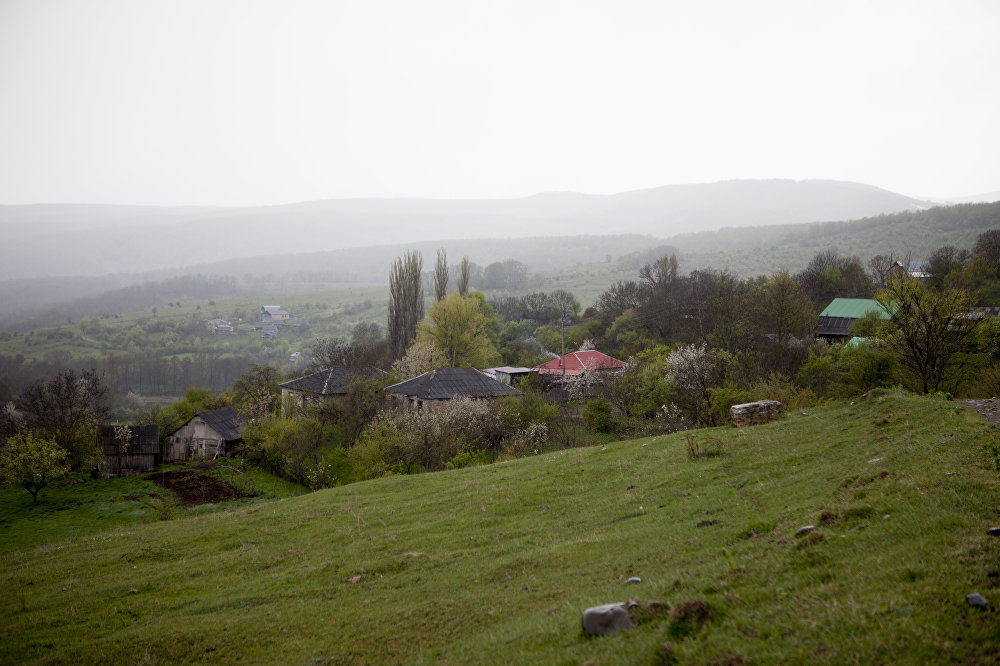 Окрестности села Вахтана