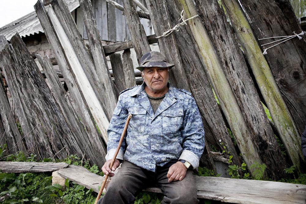 Житель села Тигва