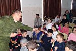 Акция Георгиевская ленточка в Ленингоре