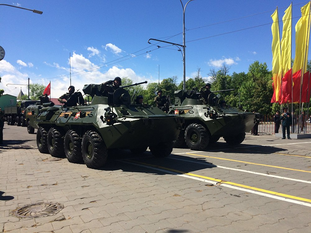 Жители Северной Осетии имели возможность увидеть надежную и эффективную военную технику