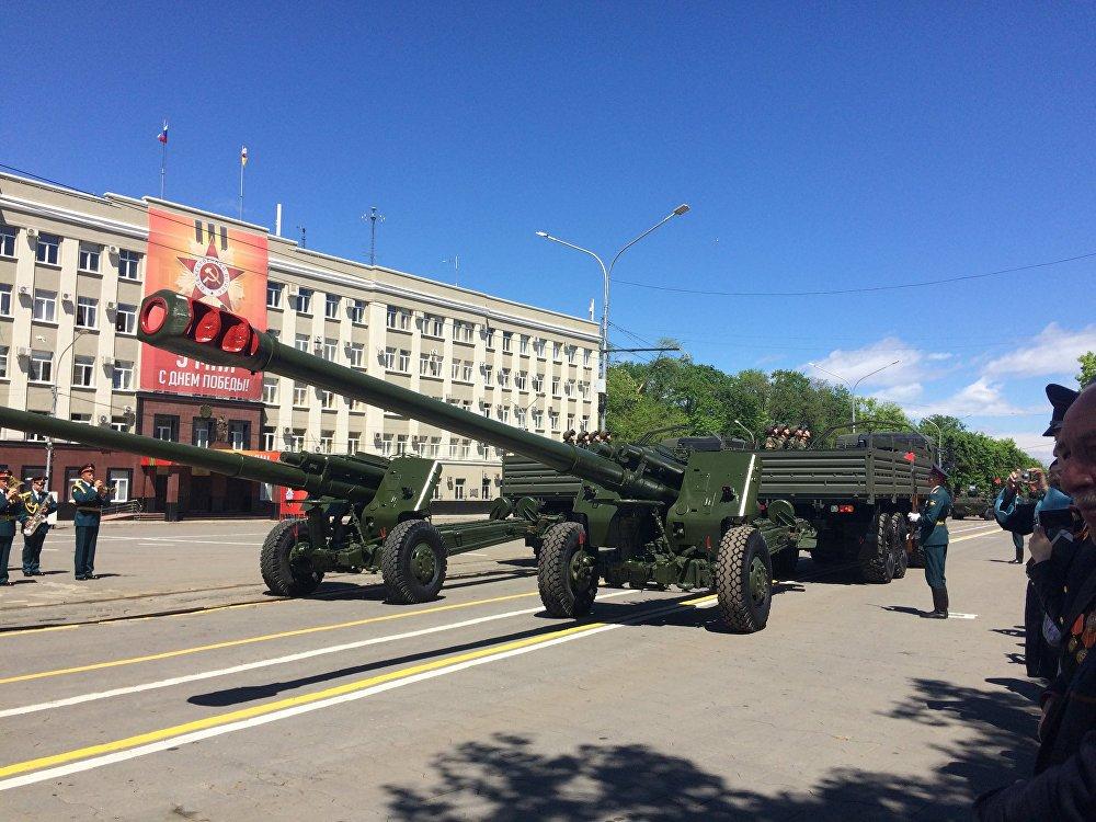 Военные Северной Осетии показали военную технику