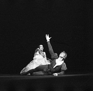 Сцена из балета С. С. Прокофьева Ромео и Джульетта