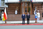 Президенты ДНР и РЮО Александр Захарченко и Анатолий Бибилов
