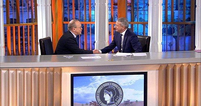 Вячеслав Битаров на программе Умники и умницы