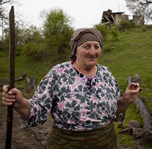 Жительница села Ожора