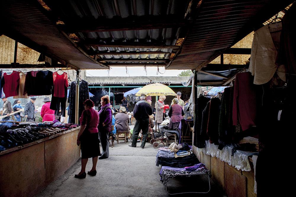 Когда-то рынок был центром торговли в Южной Осетии