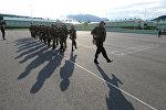 Военнослужащие 4-й военной базы в Южной Осетии