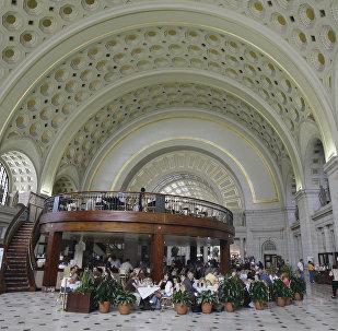 Кафе Вашингтонского вокзала Юнион-Стейшн