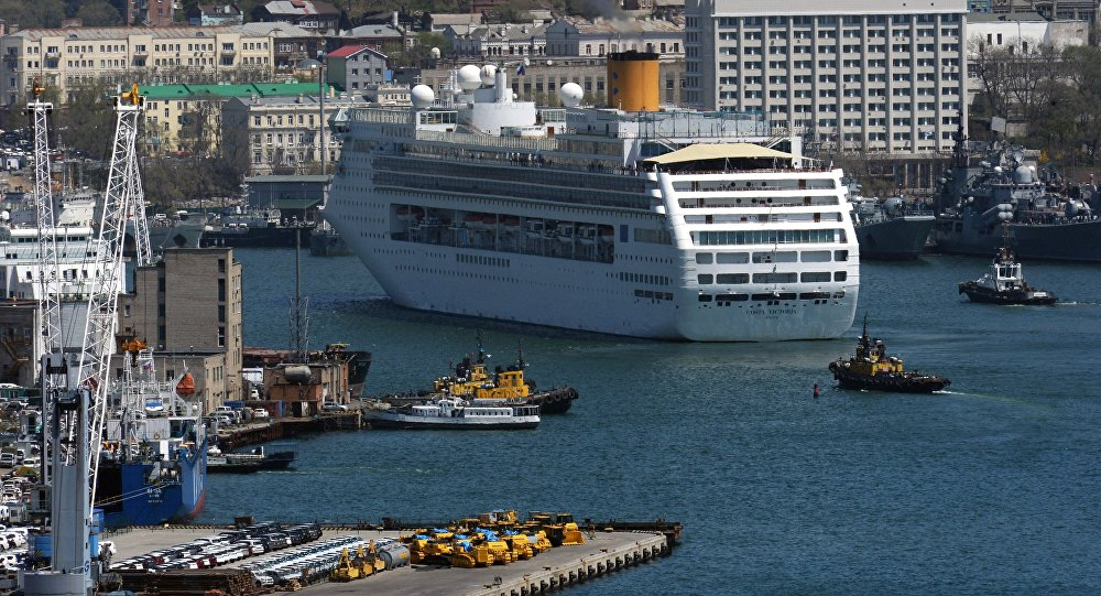 Морской порт Владивостока