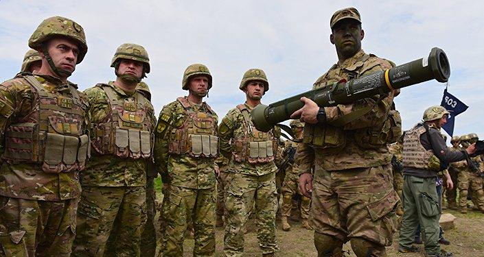 Совместные военные учения вооруженных сил Грузии и США