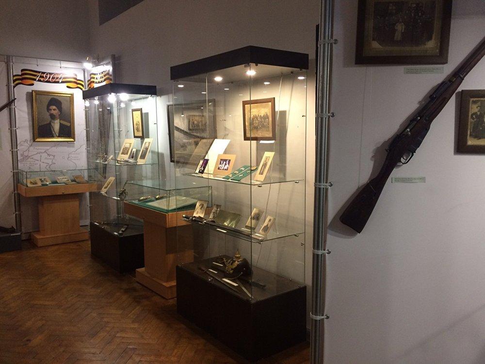 В музее Истории Владикавказа много экспозиций, посвящённых Великой Отечественной войне.