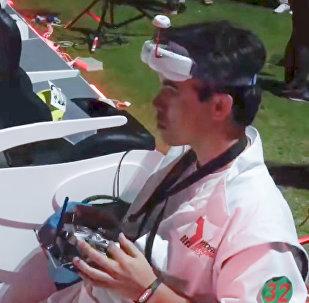 World Drone Prix 2016 Видео финала с участием команды из России
