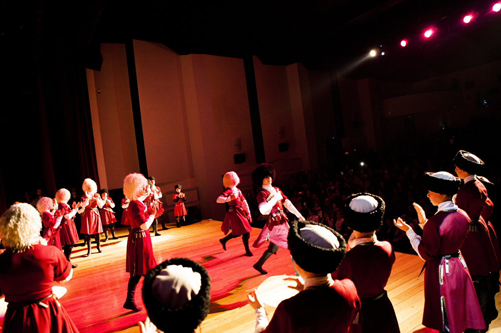 Отчетный концерт студии КАФТ