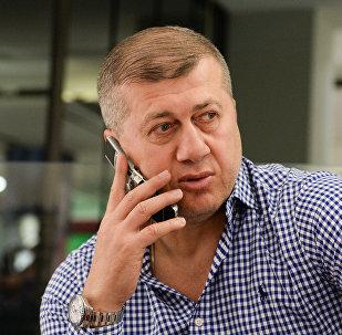 Главный тренер сборной России по вольной борьбе Джамбулат Тедеев