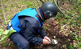 Российские саперы нашли и обезвредили в Южной Осетии 15 мин