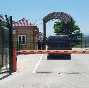 Пункт упрощенного пересечения границы Южной Осетии с Грузией