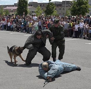В Южной Осетии отмечали День пограничника