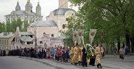 Крестный ход в день Святой Троицы