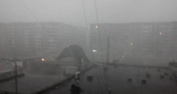 Ураган в Нижнем Тагиле