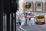 Ситуация на месте теракта в Лондоне