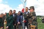 Строительство забора на границе Литвы с Россией
