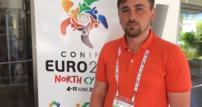 Консультант сборной Южной Осетии Сослан Санакоев