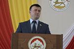 Как выбирали спикера: кадры заседания парламента Южной Осетии