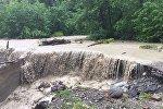Последствия ливней в Алагирском районе Северной Осетии