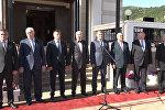 В российском посольстве в Южной Осетии отмечали День России