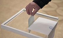 Урна для голосования. Архивное фото