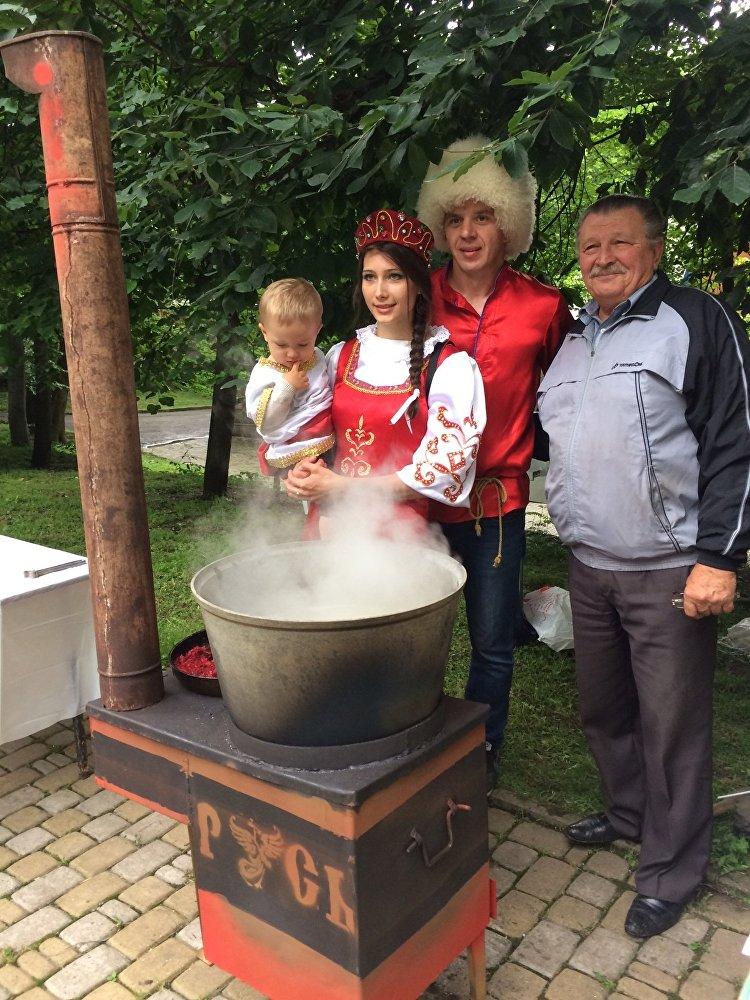 На фестивале Нартхор были представлены блюда народов Кавказа.