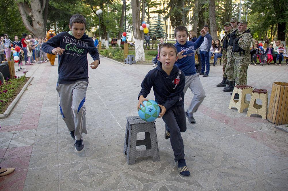 День России в Южной Осетии