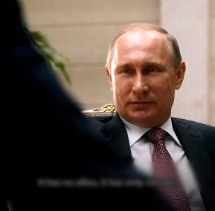 Фрагменты документального фильма Интервью с Путиным