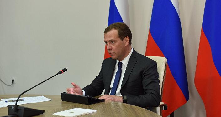 Совещание по вопросу строительства школ с участием Д.Медведева